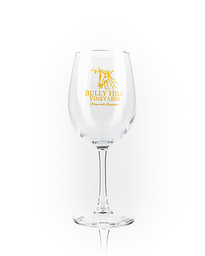 Product Image for Logo Wine Glass - Yellow